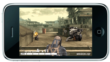 Metal Gear Solid Touch iPhone Game por GamingBits.
