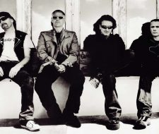 "U2, ""All because of you """