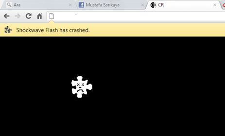 Problemas Shockwave Flash en Google Chrome
