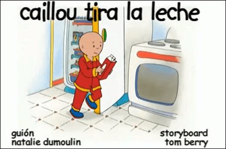 Ver Caillou online
